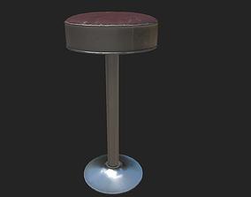 3D asset BarStool design