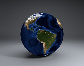 EarthGlobe 3D model