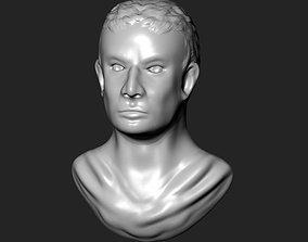 sculpture 3D print model Emperor Bust