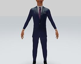 3D model President barack obama