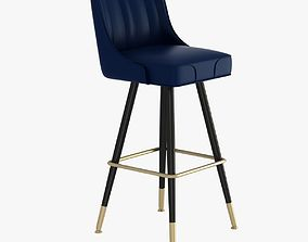 Richardson Seating Bar Stool 3D