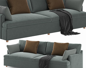 RH Cloud Track Arm Sofa 3D asset