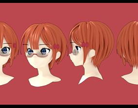 Rizu Ogata hairstyle 3D
