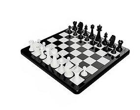 Game Chess 3D model