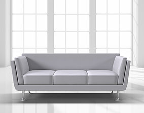 Sofa contemporary 3D model