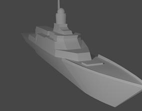 3D print model Warship