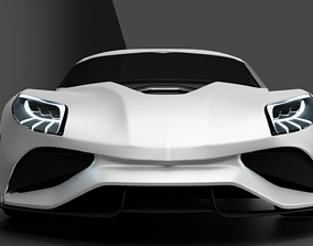 3D model Koenigsegg Utagera Concept