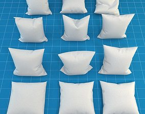 Pillow Collection 3D model fabric