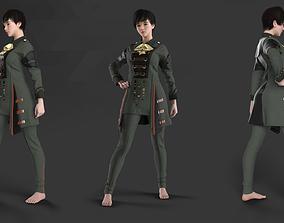 Female Commander Uniform - 56 Marvelous Designer and