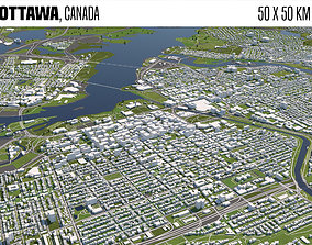 Ottawa Canada 3D