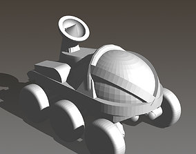 3D printable model Manned Rover for On Mars Board Game