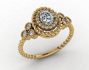 Beautiful jewelry printabe diamond ring filigree