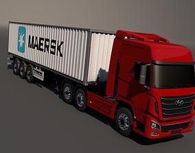 3D model Hyundai Xcient Container