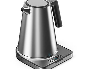 3D Metal Electric Kettle