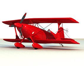3D model Pitts Custon Aerobatic Plane