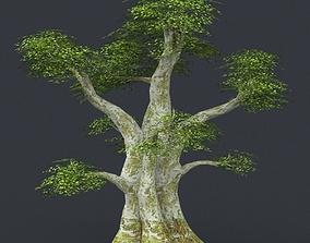 3D model Low Poly Tree 01