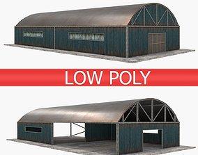 Warehouses Pack - Blue 3D model
