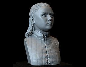 Arya Stark from Game of Thrones 3D print model stark