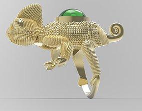 3D print model CHAMELEON RING