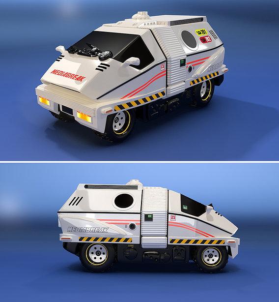 Mediabreak Sci-Fi Van