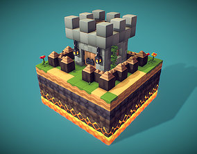 Cube World Bundle - Proto Series 3D model