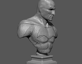 Batman bust 3D printable model hero