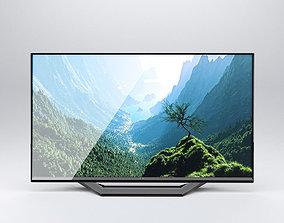 TV Low Poly 3D model