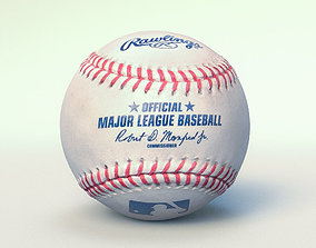 Official Major League Baseball 3D model