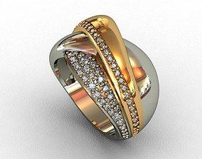 matrix Diamond Ring 3D print model