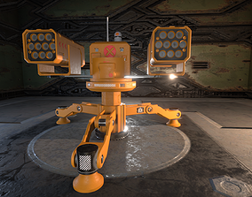 Turret 1 3D model