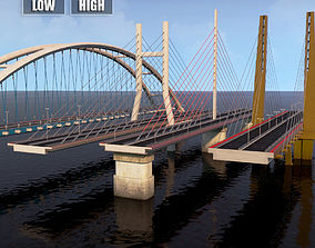 3D Suspended water road bridge pack collection