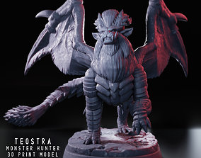 animal Teostra - Monster Hunter - 3D Fan Art -