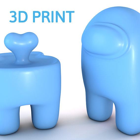 Among Us 3d printable model