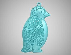 3D print model Penguin Necklace