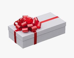 3D Christmas gift box 06