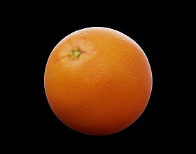 lime 3D asset game-ready Orange