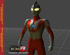 Ultraman Type-C 3D Figure Printable