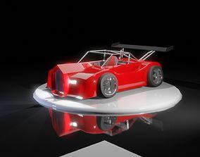 Prototype Toonish Car 3D asset