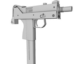 weapon mac11 Gun 3D Model