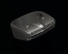 3D printable model car ring 20