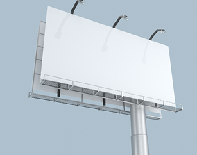 3D asset realtime PBR Billboard