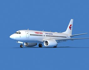 Boeing 737 MAX 7 China Eastern 3D