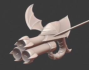 Bewitching Miss Fortune Prestige Gun 3D print model 4