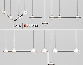 3D Laurent suspension light collection