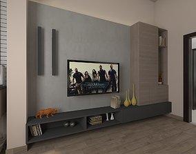 3D asset realtime tv unit