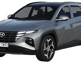 3D hyundai Hyundai Tucson 2021