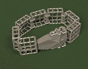 Bracelet Lattice 3D print model