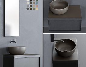 3D asset Ceramica Cielo Multiplo set 5