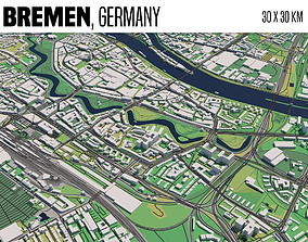 3D model Bremen