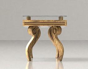 3D asset Vintage Coffee Table